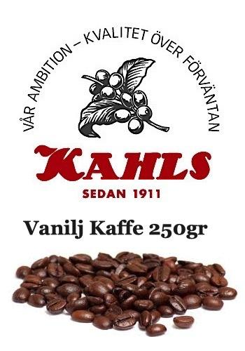 VANILJ - SMAKSATT HEL KAFFE 250gr
