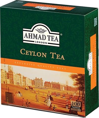 Ahmad Te Ceylon Tepåsar 3x100