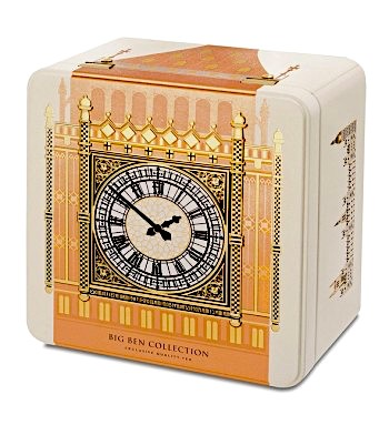 ​Big Ben Tea Collection Caddy 40 foil wrapped teabags.