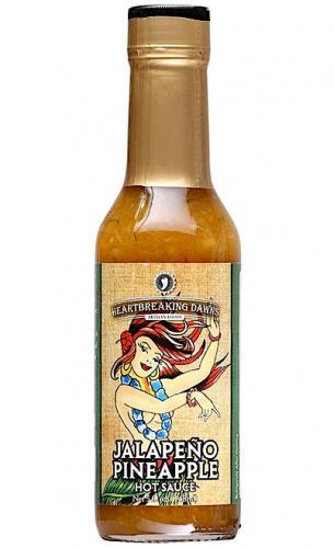 Heartbreaking Dawn's Jalapeno Pineapple Hot Sauce 148ml