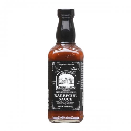​Historic Lynchburg Tennessee Whiskey Fiery Hot Barbecue Sauce 151 'Poof'
