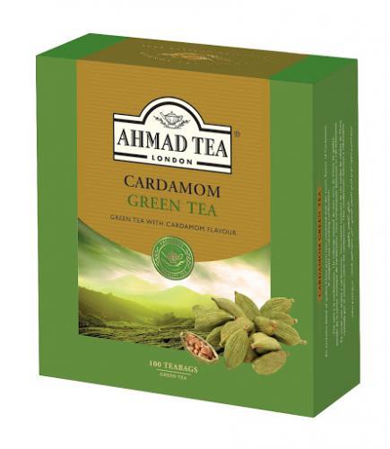 Kardemumtgrönt te / Cardamom Green Tea 3x100 Teabag