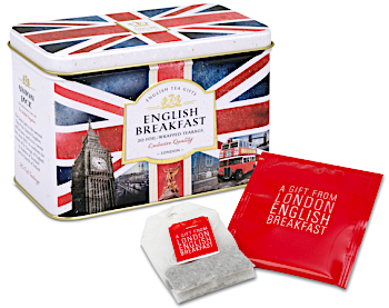 ​NOSTALGIC BRITAIN CADDY  20 foil-wrapped teabags