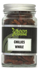 Chili hel / Chillies Whole 25g