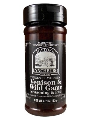 ​Historic Lynchburg Tennessee Whiskey Venison and Wild Game Seasoning &Rub