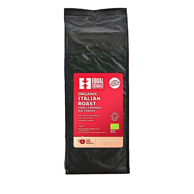 Ekologisk italienska rostat kaffe 1kg
