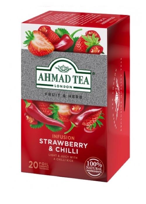 Herbal Tea. Strawberry & Chili 20 Teabag