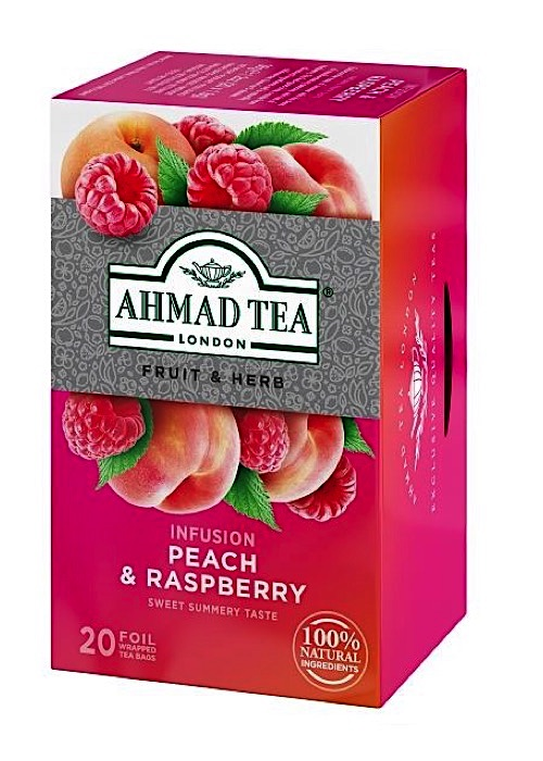 Herbal Tea. Peach & Raspberry 20 teabags