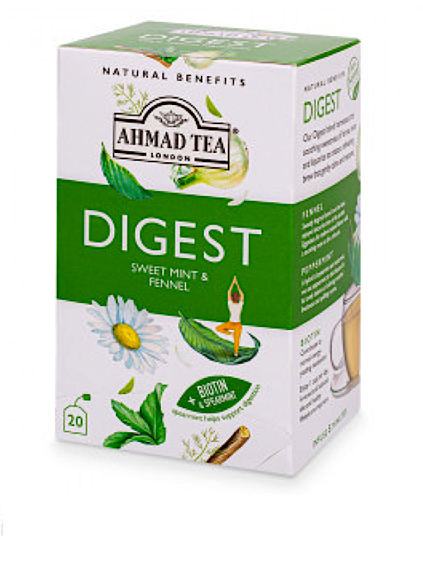 """SWEET MINT & FENNEL """"DIGEST"""" INFUSION - TEABAGS"""