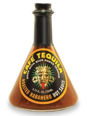 Cafe Tequila Roasted Habanero Hot Sauce
