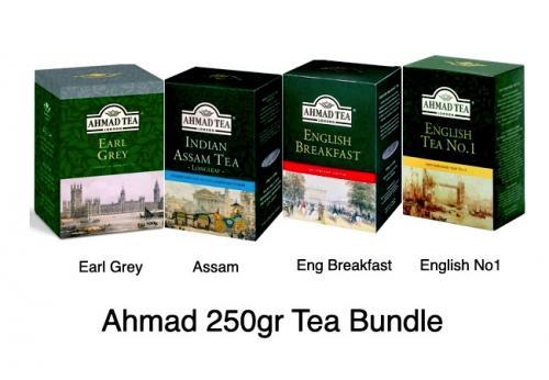 Ahmad  250gr Loose Tea Bundle