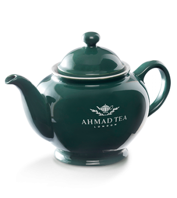 Ahmad Tea GREEN TEAPOT / Gröna Tekanna
