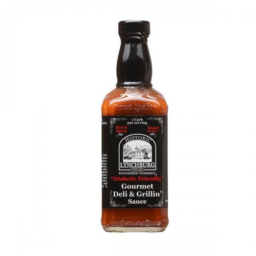 "Historic Lynchburg Tennessee Whiskey ""Diabetic Friendly"" Gourmet Deli & Grillin' Sauce"