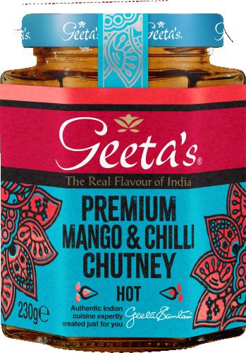 Premium Mango & Chilli Chutney 3x230g pk