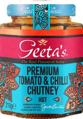 Premium Tomato & Chilli Chutney 230gr