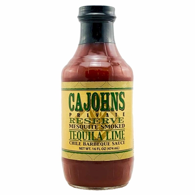 ​CaJohns Mesquite Smoked Tequila Lime Chile Barbeque Sauce