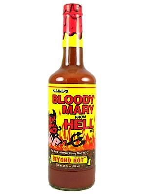 Habanero Bloody Mary from Hell Mix Sauce 750 ml