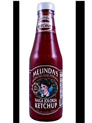Melinda's Naga Jolokia Ketchup 390g