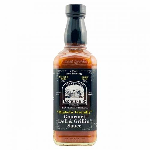 "​Historic Lynchburg Tennessee Whiskey ""Diabetic Friendly"" Gourmet Deli & Grillin' Sauce - MILD"