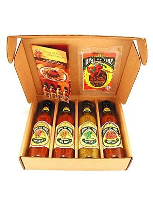 Ring of Fire Hot Sauce Gift Box​
