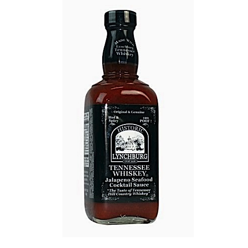 Historic Lynchburg Tennessee Whiskey Jalapeno Cocktail Sauce 426g
