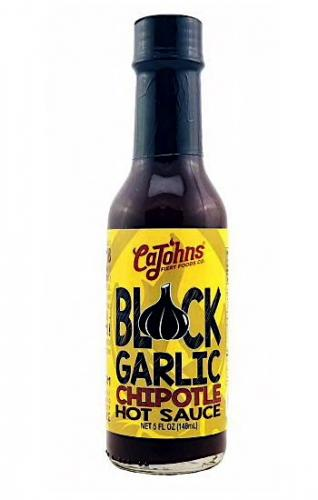 Cajohns Black Garlic Chipotle Hot Sauce