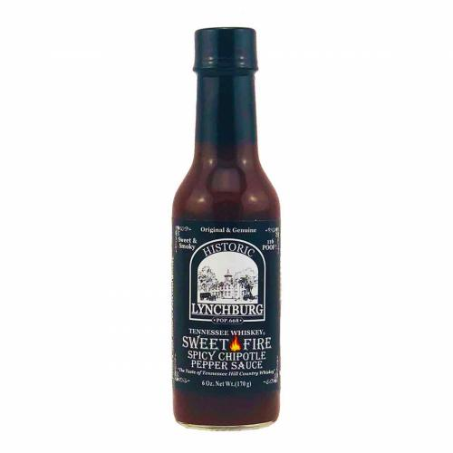 ​Historic Lynchburg Sweet Fire Spicy Chipotle Pepper Sauce