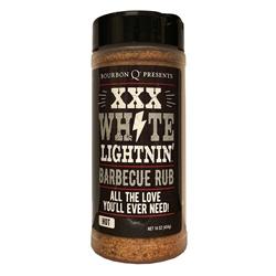 BourbonQ XXX White Lightnin Barbecue Rub 454gr