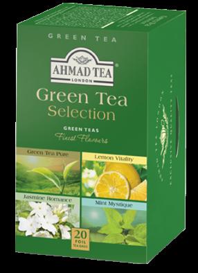 Ahmad Te Grönt Te / GREEN TEA SELECTION 20 Teabags