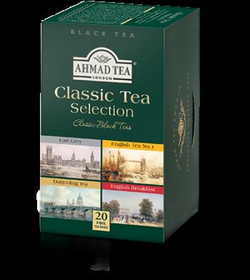 CLASSIC TEA SELECTION, 20 tepåsar
