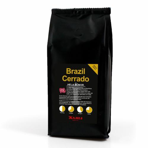 Brazil Cerrado 250g Helt kaffe
