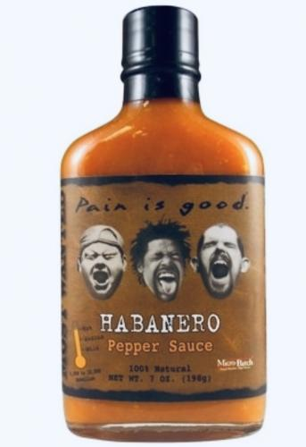 ​Most Wanted Pain is Good Habanero Hot Sauce​