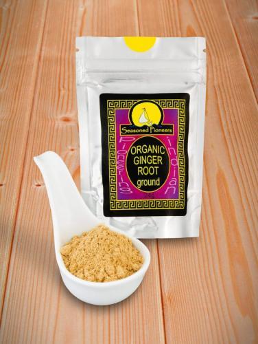 Ekologisk Ingefära mald / Ginger Organic, Ground 24gr