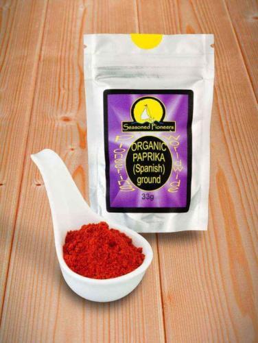 Ekologisk Paprika pulver 33gr