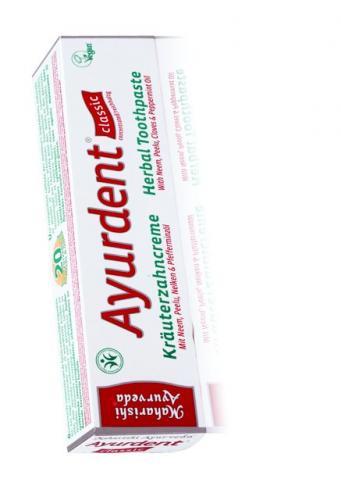 Ayurdent tandkräm med neem (BDHI naturlig kosmetika certifierad)