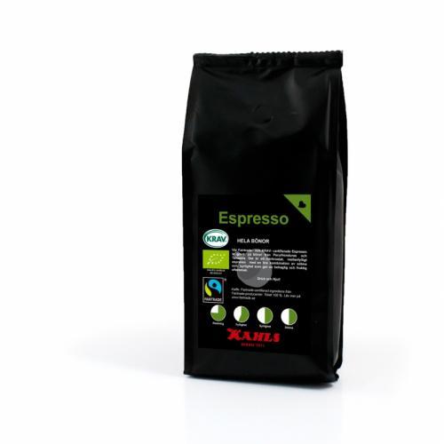 Espresso Fairtrade&KRAV 250g Helt Kaffe