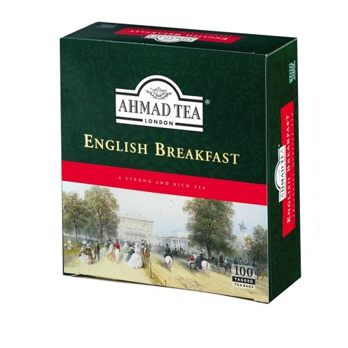 Ahmad Te English Breakfast Tepåsar 3x100