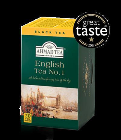 Ahmad Te English Tea No.1, 20 tepåsar