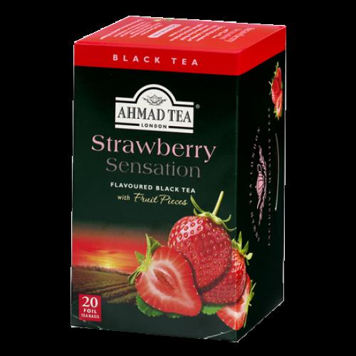 Jordgubb Sesation Te / Strawberry Sensation 20 Tepåsar
