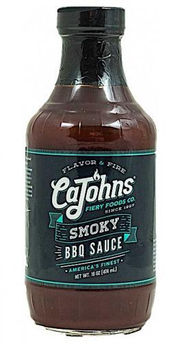 Cajohns Bourbon St Smoky BBQ Sauce 473ml
