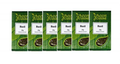 BASILIKA / Basil  - Förpackningsstorlek = 6x20gr