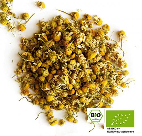 Ekologisk lös kamille  / Organic Loose Chamomile Blossoms 200gr