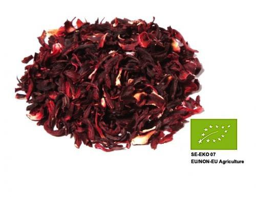 Ekologisk Hibiscus Te / Organic Hibiscus Blossoms Tea 200gr