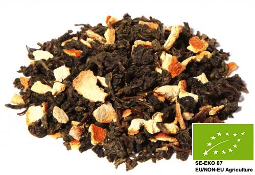 Ekologisk Apelsin Oolong Te / Organic Orange Oolong Tea 200gr