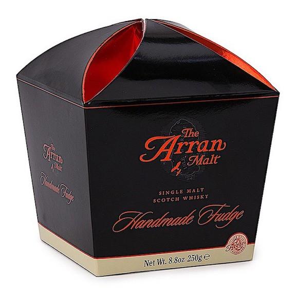 Arran Whisky Fudge Carton 250gr