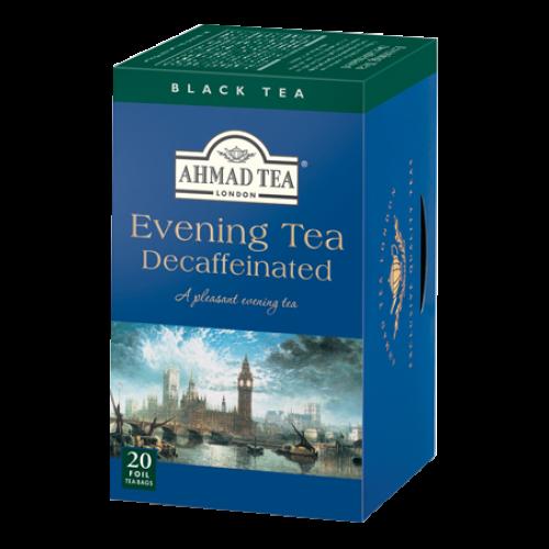 Ahmad Te KOFFEINFRITT KVÄLLSTE Tepåsar / EVENING TEA DECAFFEINATED 20 Teabags