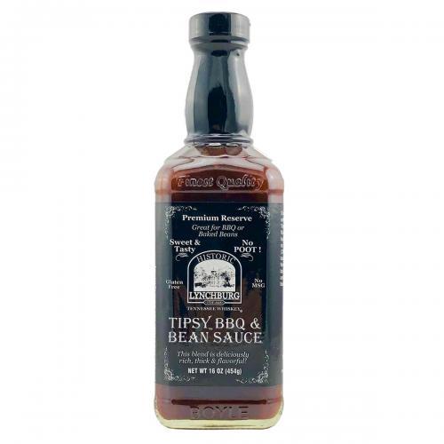 Historic Lynchburg Tennessee Whiskey Tipsy BBQ & Bean Sauce
