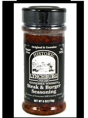 Historic Lynchburg Tennessee Whiskey Steak & Burger Seasoning