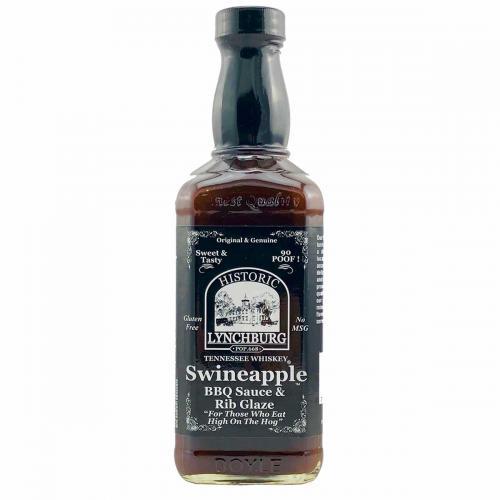 Historic Lynchburg Tennessee Whiskey Swineapple Rib Glaze & BBQ Sauce
