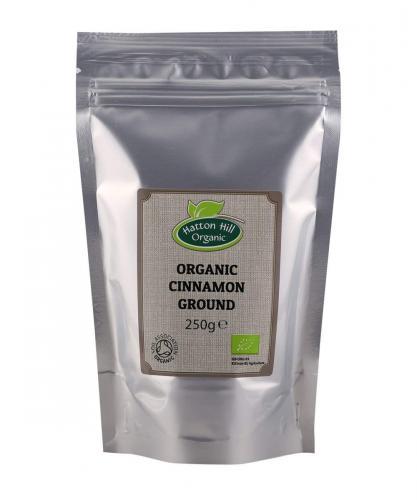 Ekologisk Ceylon Kanel Mald / Organic Cinnamon Ground (Ceylon) Catering Pack 250g